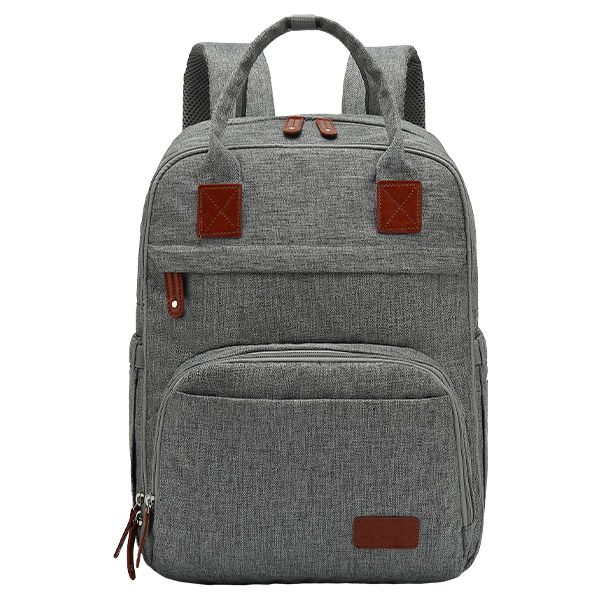 Mochila Maternal Boston Gris